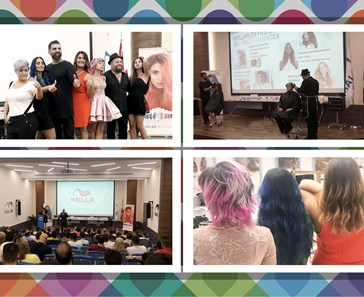 CH. SARRAF & CO. HOSTS COLOR ME CRAZY SEMINARS FOR HAIRSTYLISTS