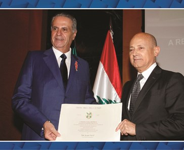 CHAIRMAN OF MALIA GROUP HONORED WITH KNIGHT OF THE ORDER OF THE STAR OF ITALY