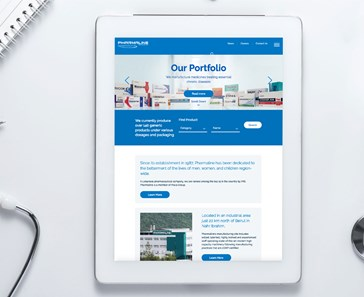 PHARMALINE LAUNCHES ALL-NEW WEBSITE