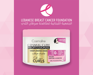 PROCEEDS FROM NEWLY LAUNCHED OH MY CURLS DT MASK DONATED TO THE LEBANESE BREAST CANCER ASSOCIATION