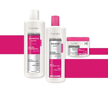 Express therapy hair, great complete formula with Cosmal cure professional